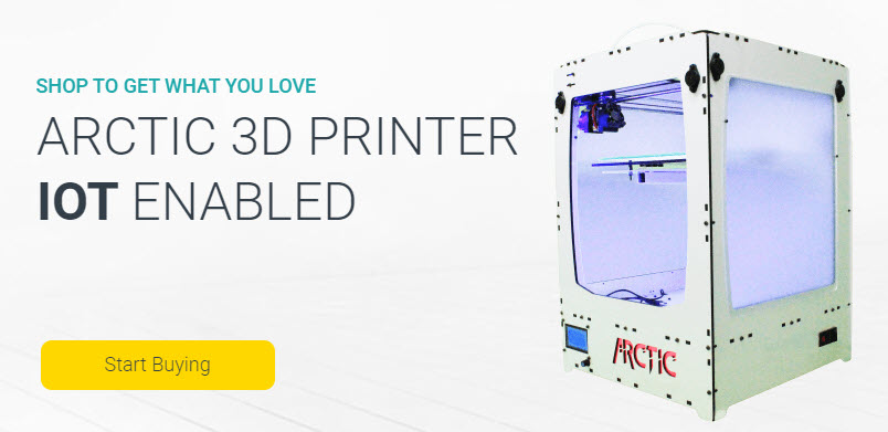 ARCTIC 3D PRINTER